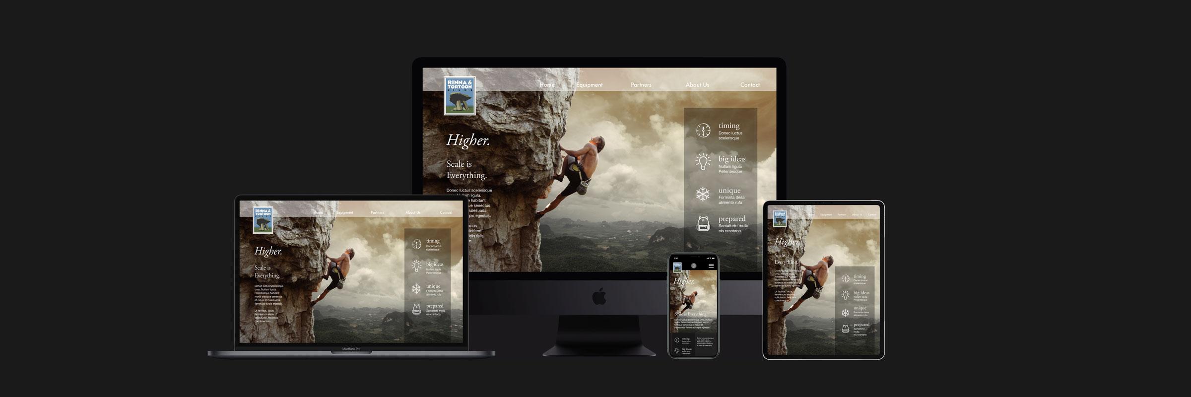 seaver web design responsive screens
